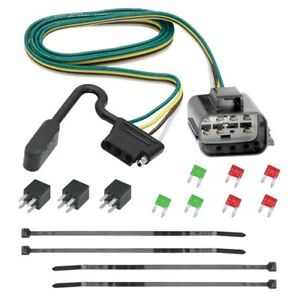 Trailer Hitch Wiring Tow Harness 4 way For Chevrolet Traverse 2013 2014 2015