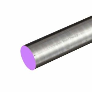 4340 Steel Round Rod Diameter 2 750 2 3 4 Inch Length 12 Inches