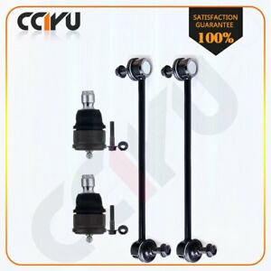 4 Suspension Parts Ball Joint Front Sway Bar Link For 2005 2011 Mazda Tribute