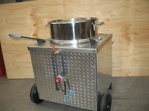 Kens Kettle Corn Machine Sifting Table
