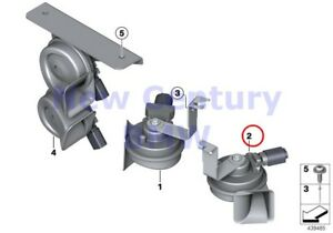 Bmw Genuine Horn Electronic High frequency Air Horn F30 F31 F32 F33 F34 F36 F80