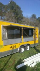 8 X 24 Food Service Vending Mobile Kitchen Concession Trailer For Sale In Mary