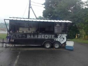 8 5 X 18 Bbq Concession Trailer For Sale In Pennsylvania