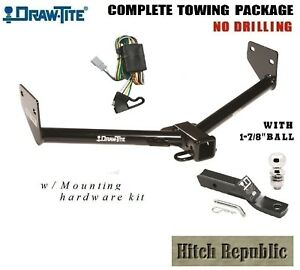 Class 3 Trailer Hitch Package W 1 7 8 Ball For 2003 2004 Honda Element 75659