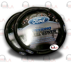 2 Piece Ford Triton Steering Wheel Cover For Car Van Truck Universal