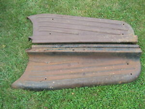 1948 1949 1950 1951 1952 1953 1954 Chevrolet Truck Running Boards