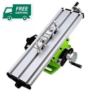 2 Axis Diy Multifunction Worktable Mini Milling Machine Table Drill Vise Fixture