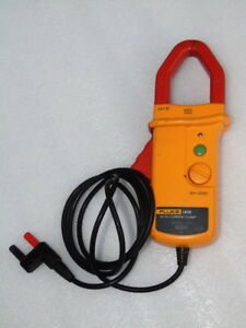 Fluke I410 Electric Ac Dc Current Clamp Voltage Probe