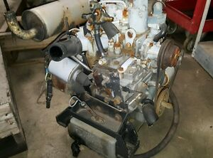 2 Cylinder United Technology Diesel Engine Free Shipping