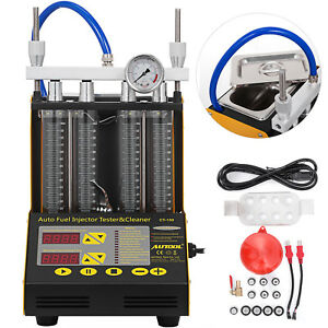 Ct150 Auto Fuel Injector Cleaner Tester Cleaning Tank Tool Testing Gasoline