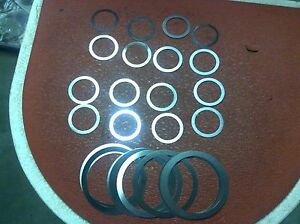 1980 Thru 1982 Corvette Rear End Differential Complete Pinion Shim Kit
