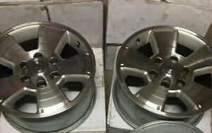 17 Toyota 4 Runner Rims Oem Factory Silver Center Cap And Lug Nuts Included
