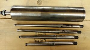 Dumore Series 7 77 Type U 7t 200 Insert Spindle Quill And Insert Spindles