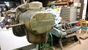Vertical Head Attachment From 3 Cincinnati Horizontal Mill With Drive Gear