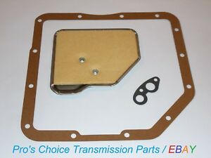 Gm Turbo Hydramatic 350 350c Transmission Oil Filter Pan Gasket Service Kit
