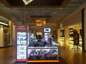 Internal Mall Kiosk For Commercial Display Retail Special For Cases