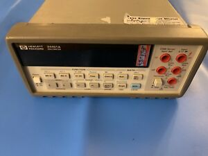 Hewlett Packard 34401a Digital Multimeter 6 Digit agilent keysight