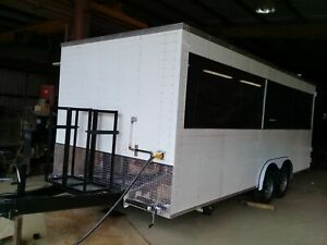 2018 8 5 X 20 Food bbq Concession Trailer With Truck For Sale In Louisiana