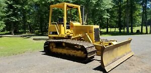 Cat D3b 1987 Bulldozer 6 Way Diesel Crawler Tractor Machine