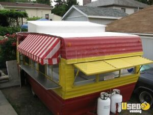8 X 15 Food Concession Trailer For Sale In Oregon