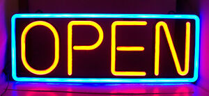 Mystiglo Led Open Sign energy Efficient No Wireless Remote Included
