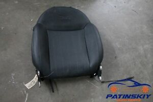2012 Fiat 500 Lounge Front Right Passenger Seat Upper Backrest Cushion Pad R 12