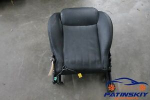 2012 Fiat 500 Lounge Front Left Driver Seat Bottom Lower Cushion Pad Rail Lh 12