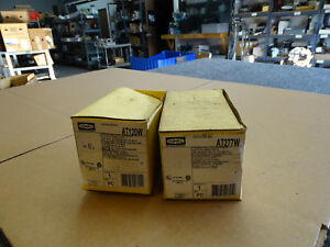 2 Hubbell H moss Wall Switch Sensor At277w At120w Brand New