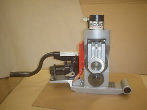 Ridgid 918 Hydraulic With 2 To 6 Inch Rollers Groover Works With 300 And Others