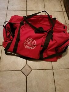 Large Firefighter Rescue Turnout Fire Gear Bag