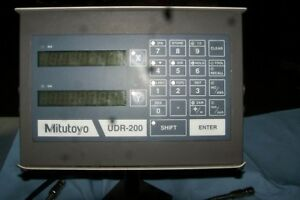 Mitutoyo Udr 200 Lathe Dro And Scales