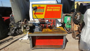 Ammco 4000 Disc And Drum Brake Lathe Works Great See Video