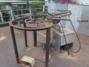Hossfeld No 2 Tube Pipe Bender W hydraulics With Huge Lot Of Dies