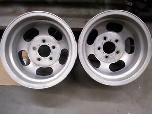 Slotted Aluminum Mag Wheels 14x10