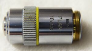Leitz Wetzlar Germany Plan 10 0 25 160 Microscope Objective Lens Great Catch