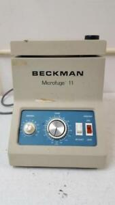 Beckman Microfuge 11 Benchtop Centrifuge With 12 Slot Rotor