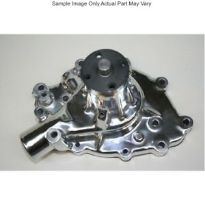 Prw 1428910 Polished High Perf Alum Water Pump Ford 289 302 351w 1965 To 1969
