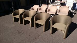Bucket Style Reception Area Guest Chairs Very Nice We Deliever Locally Nor Ca