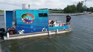 2015 24 Food Boat W Full Commercial Kitchen For Sale In Oklahoma