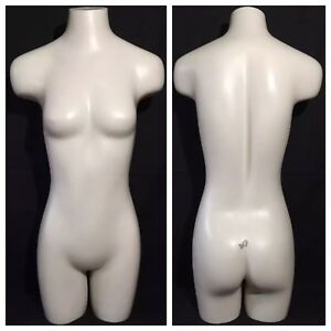 Headless Female Mannequin Dress Form Stand Vintage Jcpenney Retail Display