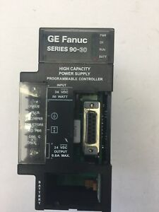 Ge Fanuc Ic693pwr331c Power Supply 24vdc Hi cap 30w