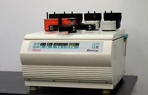 Thermo Electron Multifuge 3s Plus Centrifuge With Rotor Buckets And Inserts