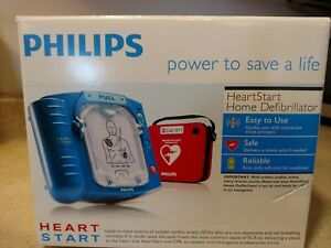 Philips Heartstart Home Aed Defibrillator With Case Portable New