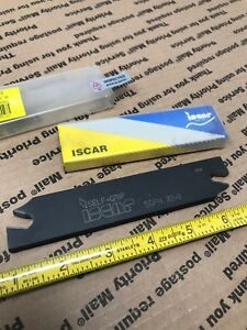 Iscar Sgfh 32 8 Self grip Cut off Tool Blade New In Box Parting Grooving