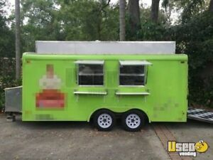 6 X 16 Food Concession Trailer For Sale In Florida