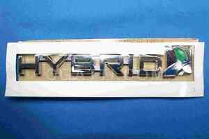 2013 2017 Ford Fusion Hybrid Emblem For Trunk Deck Oem Ds7z 9942528 F
