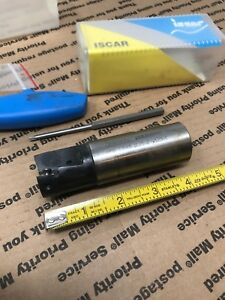 Iscar Indexable End Mill Hm90 E90ad d1 25 2 w1 25 Heli2000