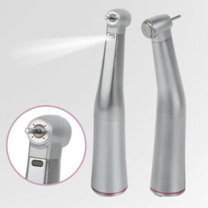 1 5 Speed Portable Dental Lab Micromotor Increasing Led Contra Angle Handpiece