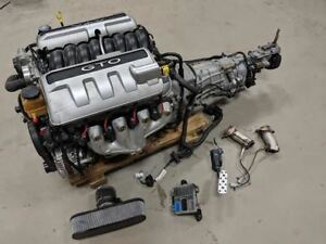 2006 Gto 6 0 Ls2 Engine Liftout W T56 Manual Trans Complete 107k Miles Video