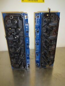 1973 Ford Cast Iron 351c 4v Cj Cobra Jet Cleveland Heads Rebuilt D3ze